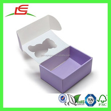 E0190 Custom Printed Empty Corrugated Shoe Box For Packaging Baby Children Shoes
