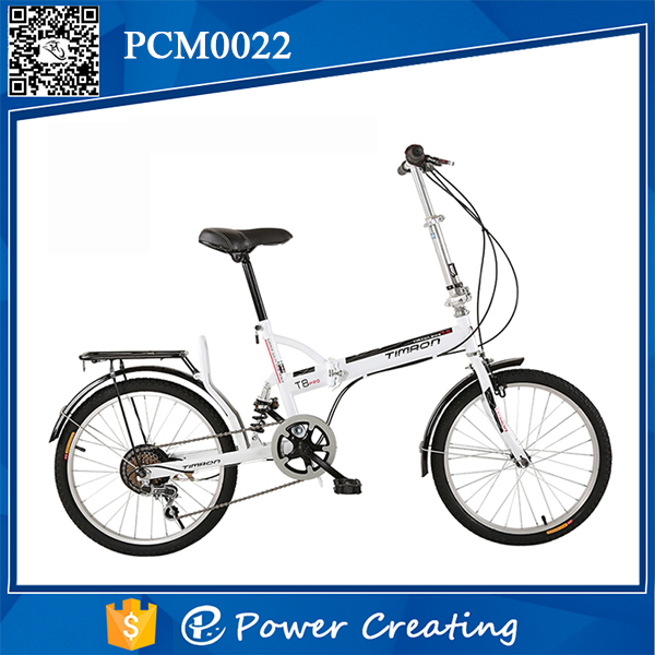Shanghai high quality 20inch folding bicycle ues comfort handlebars