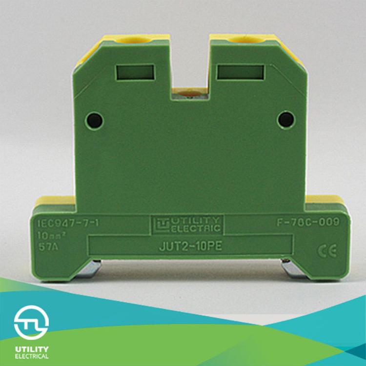 Yellow And Green Earth Terminal Block Uk10n Pe Terminal Block ...
