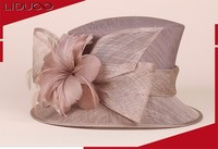 Wholesale church hats ladies women fancy good design wedding hat