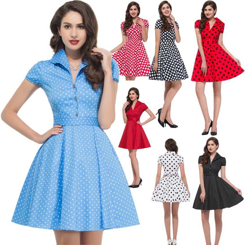 50s Dresses  1950s Vintage Style Dresses  ModCloth