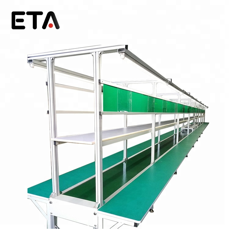 Automatic Speed Chain Conveyor for LED TV / LED Lamp / LED Bulb Assembly Line