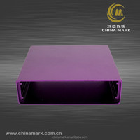 Aluminium extrusion cover for removable mobile power