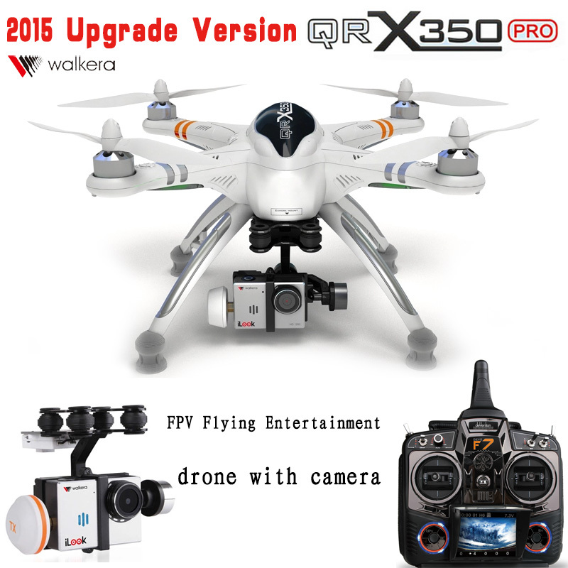 2014 Upgrade Version WALKERA QR X350 Pro GPS Drone 6CH Brushless UFO DEVO F7