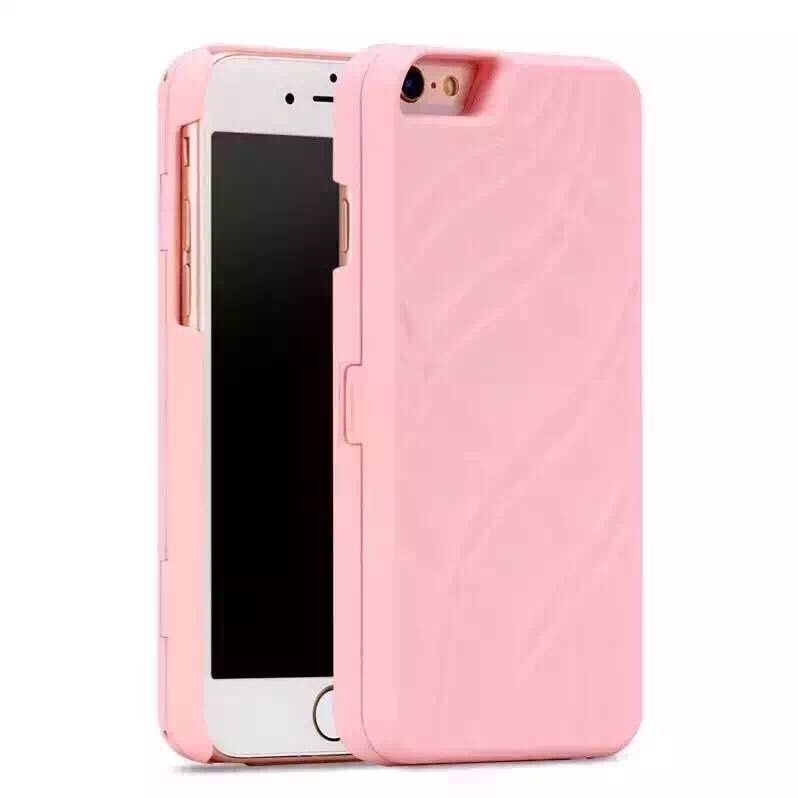 mirror makeup back cover case for oppo f1 plus