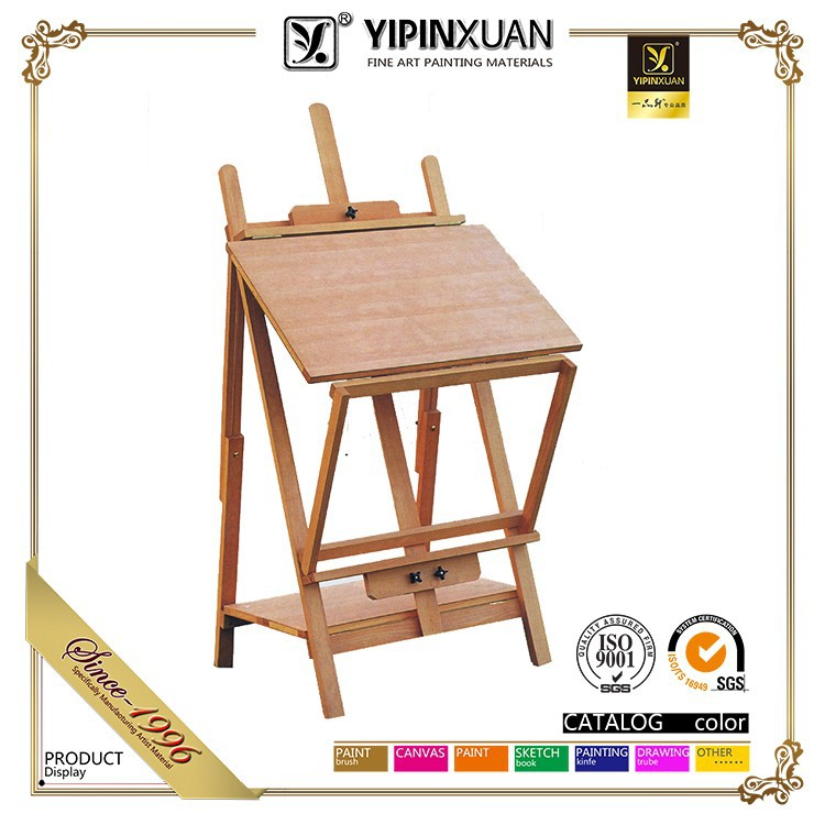 Best Quality professional floding wooden artist painting easel