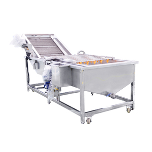 Credit insurance order Automatic ozone bubble ultrasonic fruit and Vegetable washing machine