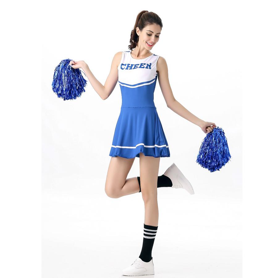 Halloween adult cheerleading uniforms
