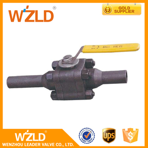 "WZLD Wenzhou Suppliers 3/8"" ,ASME B16.34 Forged Small Gas Mini Ss Ball Valve With 3Pc"