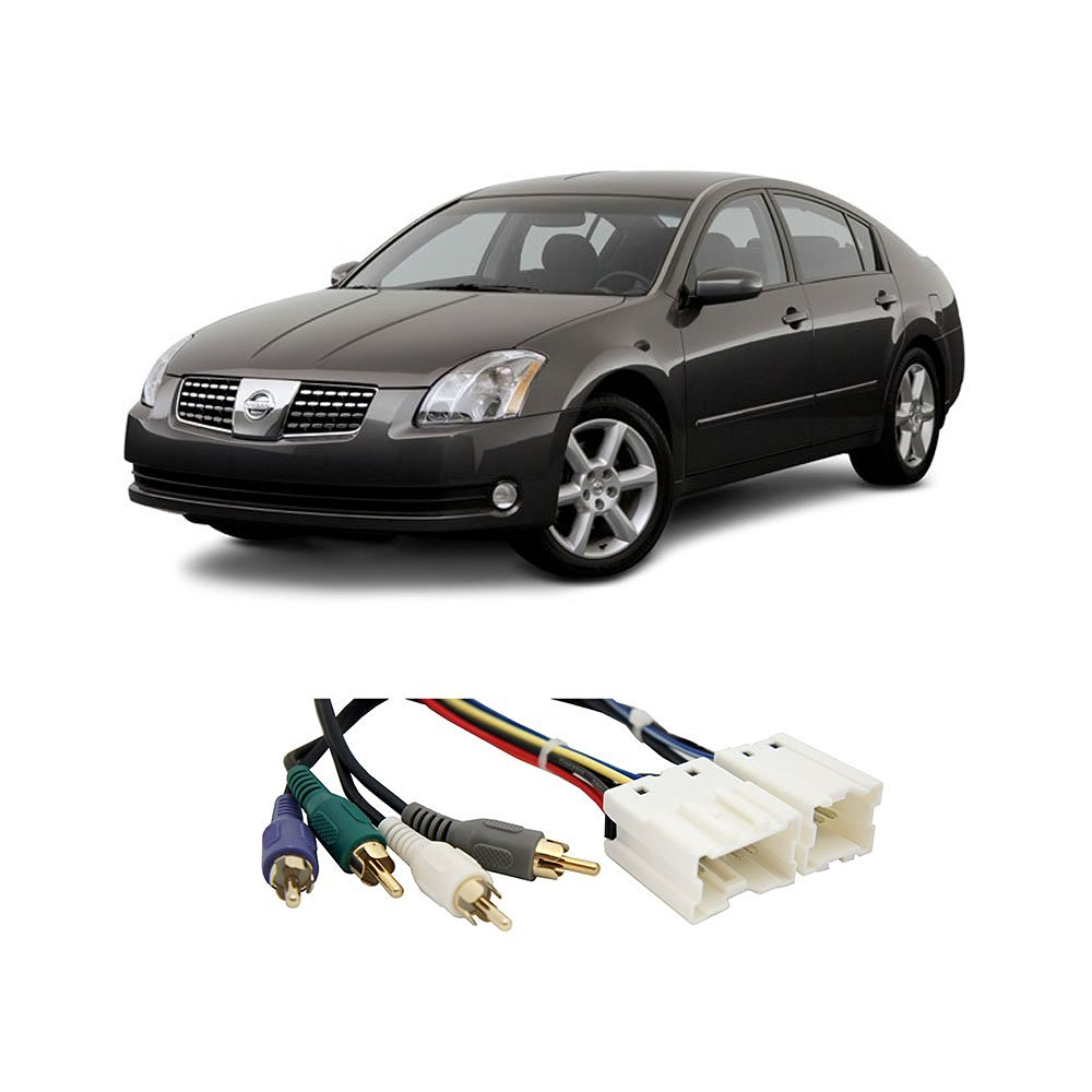 Fits Nissan Maxima 95-06 (Premium Sound) Factory to Aftermarket Radio Harness