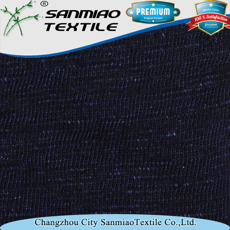 Low price of High quality yarn slub denim fabric for girls mini skirts with best quality and low price