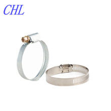 stainless steel germany type automotive worm drive hose clamp