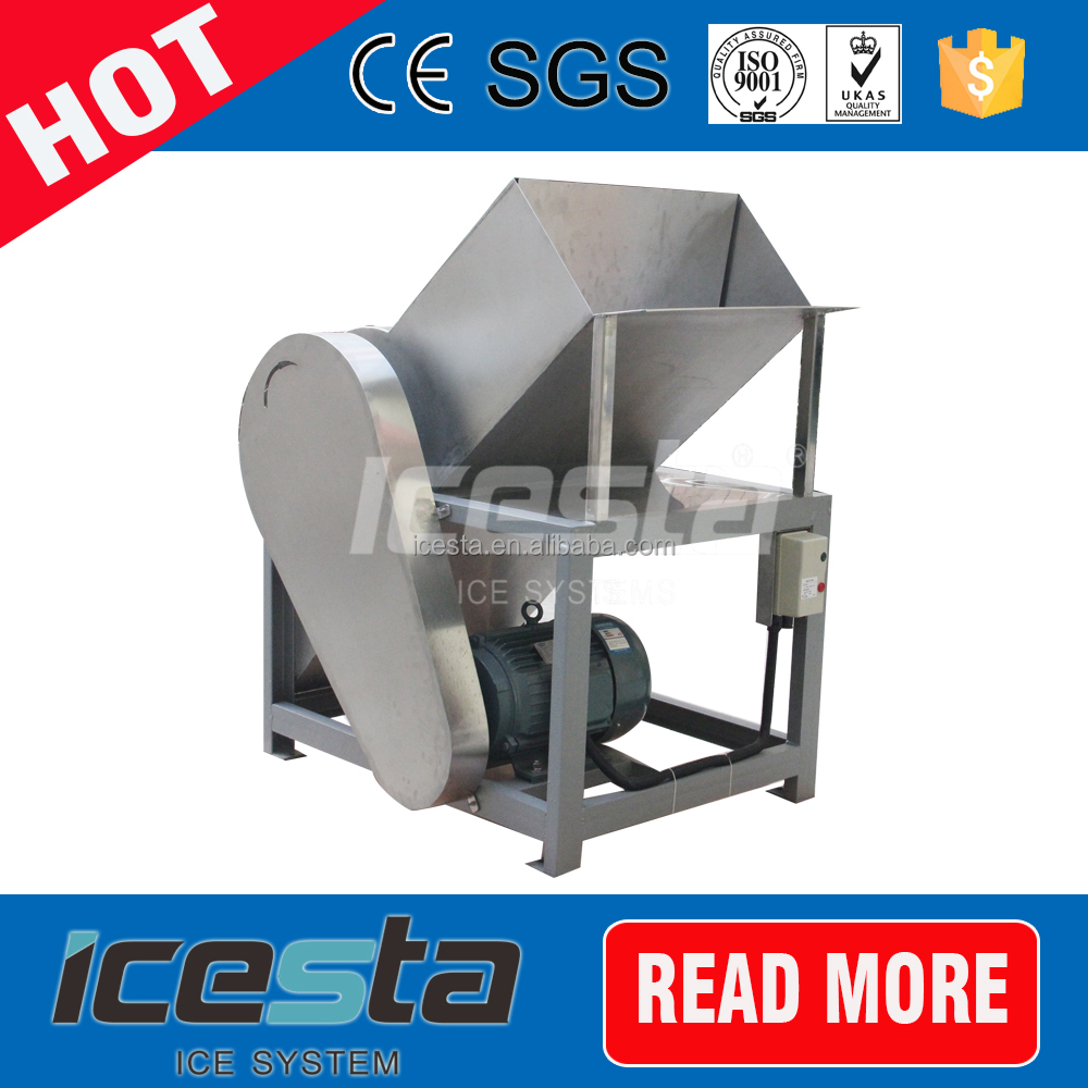 snow cone clear block ice crusher machine
