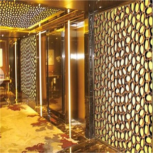 Metal Wall Panel designs with 304 Stainless Steel Sheet