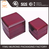 Custom luxury elegant wood box for jewelry