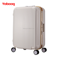 "2016 New Fashion Design ABS+PC China Supplier Luggage,Luggage bag,Trolley Luggage with Good Price Hard case 24"" Hot Sale"
