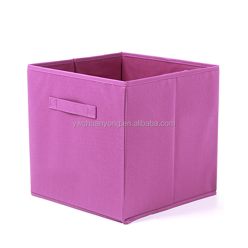 Custom Cheap Underwear Bra Non Woven Fabric Foldable Home Drawer Closet Organizers Storage Box
