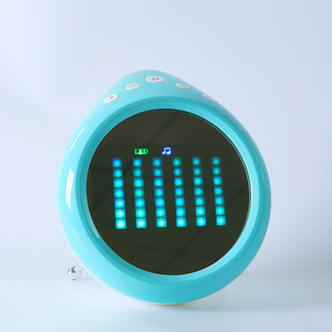 Best selling wireless speaker 5W led light with Mini Speaker