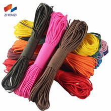 Supplies Wholesale Type III 550 Paracord Rope 7 Strand Nylon Military Parachute Cord String