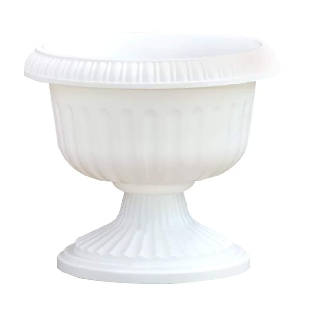 "Olivine Garden Urn Planter Flower Pot Indoor & Outdoor Décor 10.5"" H for Patio Porch Deck & Entryway"