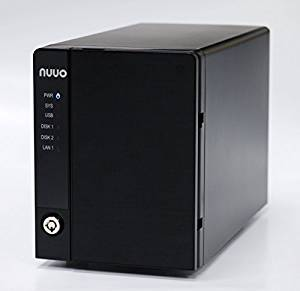 Nuuo Mini 2 NAS-based NVR Standalone 4 Channel, 2bay, 8TB included, US Power Cord (NE-2040-US-8T-4) New