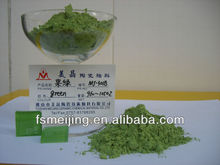 glass paint color for ceramic green pigment
