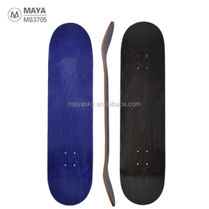 Competitive professional skate board deck 7ply layers 100% Canadian Maple customized blank skateboard deck