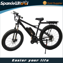 Fat Tyre Mountain Electric Bicycle Powerful Electric Bicycle Motor 8 Fun Mid Motor Drive Electric Bike