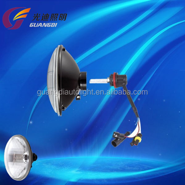 "Factory best price easy installation low defective rate 35w 55w 5"" HID Sealed Beam with gold supplier in alibaba"