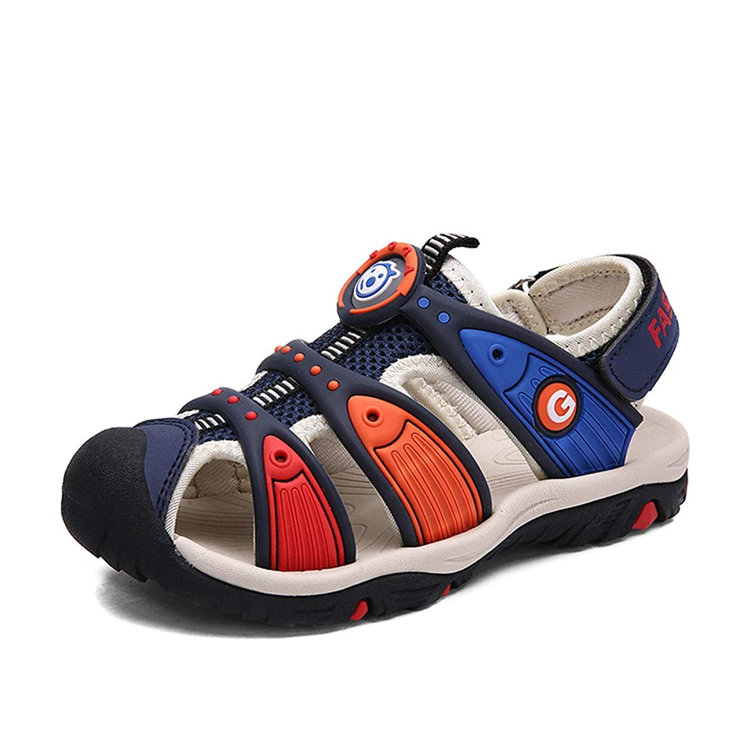 4facfb56bc Get Quotations · YIBLBOX Girls boys Summer Walking Shoes Outdoor Athletic  Sport Sandals(Toddler/Little Kid/