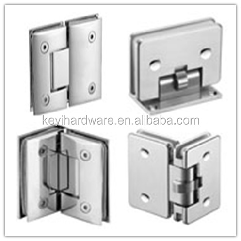 2015 Hot Aluminium Door Hinge Glass Door Concealed Hinge Frameless Shower