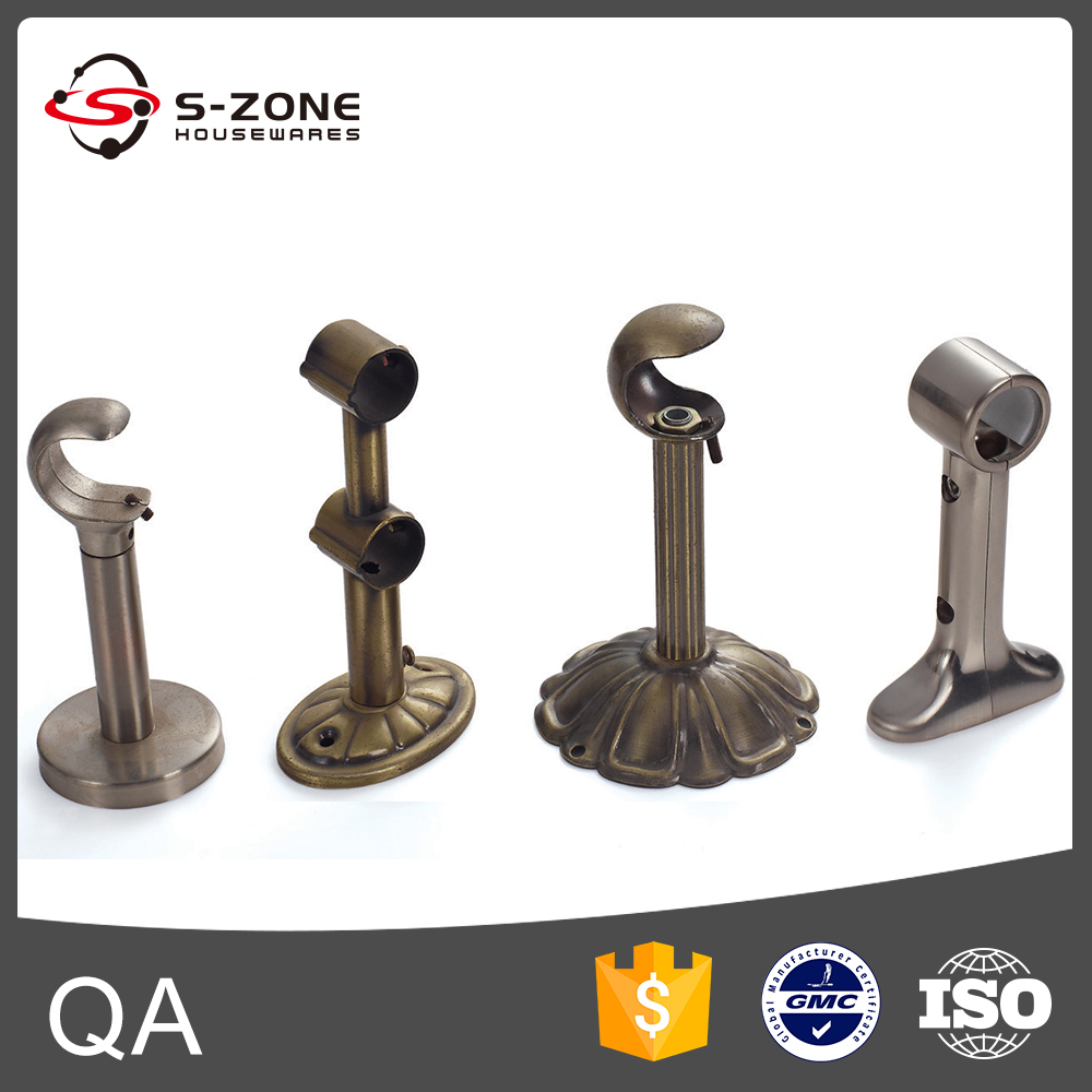 Different Styles Of Curtain Rods Accessories Double Aluminum ...