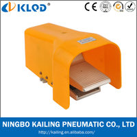 KLQD brand 3 way alloy material Pneumatic Air Foot Valve to control air FV320