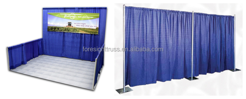 Expo Stand Backdrop : Truss stand modular exhibition booth backdrop pipe and