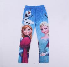 Dievčenské legíny Ľadové kráľovstvo Anna a Elsa z Aliexpress