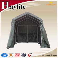 Folding garage car tent cover packing shelter with steel frame