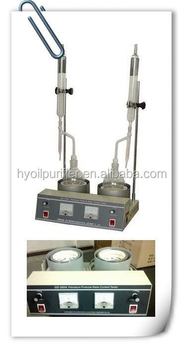 GD-260A ASTM D95 Moisture in Oil Testing Equipment