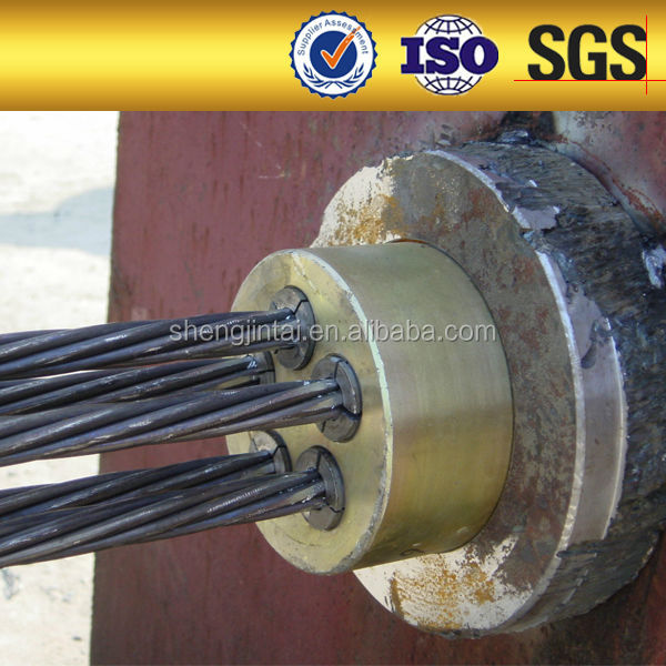 Post Tension Wedge Plate : Iso certificate post tensioning hollow concrete block