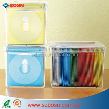 120 disc acrylic storage box perspex clear cd box buy 120 disc acrylic storage box perspex. Black Bedroom Furniture Sets. Home Design Ideas