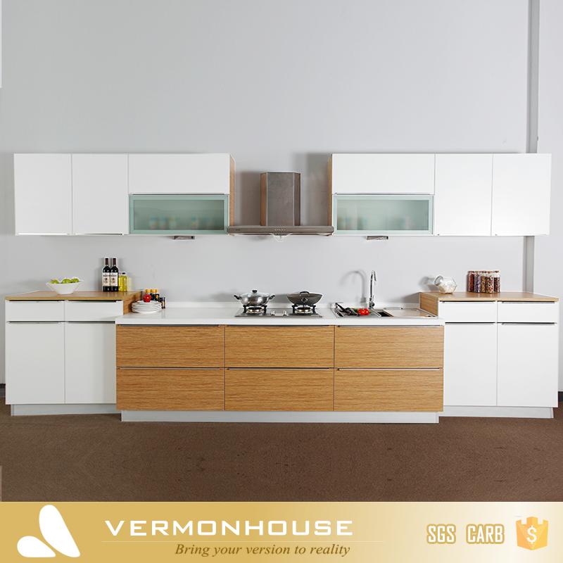 2017 Vermont Promoção Modern MDF Cor Branca Novo Modelo Do Armário De  Cozinha