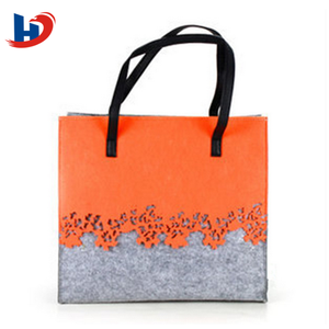 New model felt women and ladies handbag