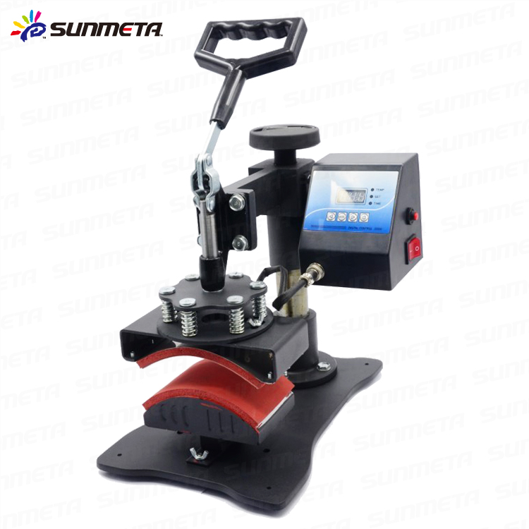 sunmeta mini cap presse de la chaleur machine pas cher. Black Bedroom Furniture Sets. Home Design Ideas
