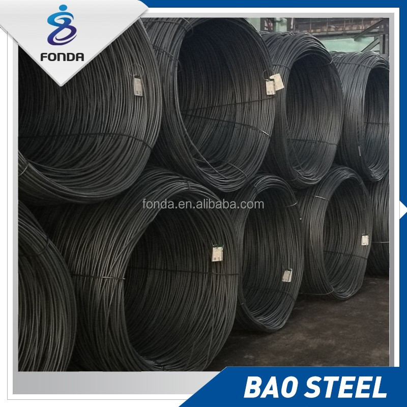 Best Metal Building Materials hot rolled alloy steel wire rod in coils