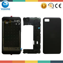 Yezone 10 Year Gold Supplier 2014 Hot Sale Factory Black Color Original Housing For BlackBerry Z10