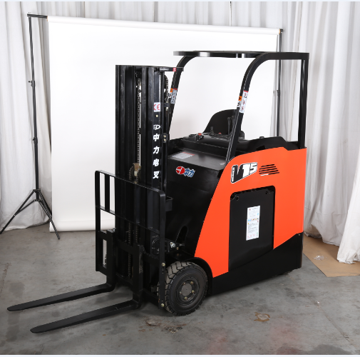 Logistics Equipment 1800KG EP 48V Battery electric Powered Forklift Truck Hydraulic Manual Forklift Hand Pallet Jack