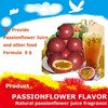 Passionflower flavour for milk beverage