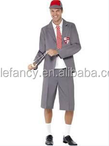 men costume adult school boy fancy dress costumes nerd geek uniform mens qamc 8854
