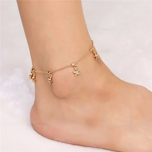 Fashion Sexy Anklet Chain Beads Ankle Bracelet Foot Jewelry For Women  Barefoot Sandal 78b09c94f061