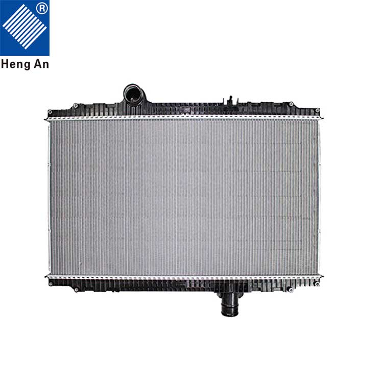 aluminum&copper water cooling auto radiator pa66 gf30 with radiator plastic tanks