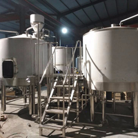 SDET 1000L brewery mash/lauter tun and the boil kettle for sale